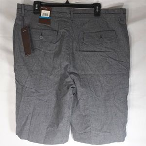 Perry Ellis NWT Casual Shorts Size 36 Gray